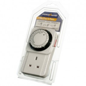 PowerMaster 7 Day Plug-in Timer Electrical Accessories